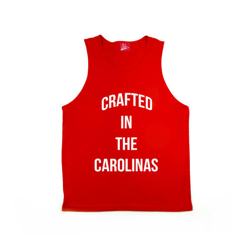 Crafted in the Carolinas Tank- Red