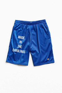 Made in the Carolinas Champion Gym Shorts With Pockets- Royal Blue
