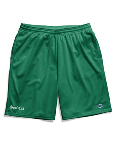 Souf Cak  Champion Gym Shorts With Pockets- Green