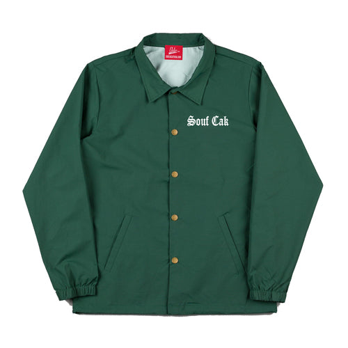 Souf Cak Coach Jacket - Green