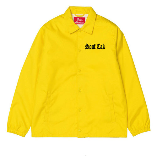 Souf Cak Coach Jacket - Yellow