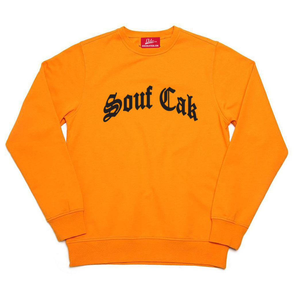 Souf Cak Crewneck Sweatshirt - Orange