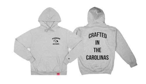 The Crafted In the Carolinas Hoodie X Champion -  Heather Grey