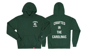 The Crafted In the Carolinas Hoodie X Champion - Green