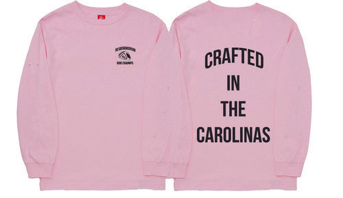 The Crafted In the Carolinas Long Sleeve-Pink