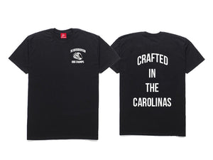 The Crafted In The Carolinas T-Shirt-Black