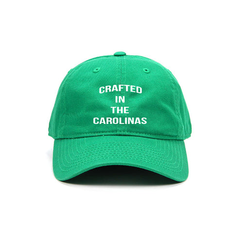 Crafted in the Carolinas Dad Hat- Green