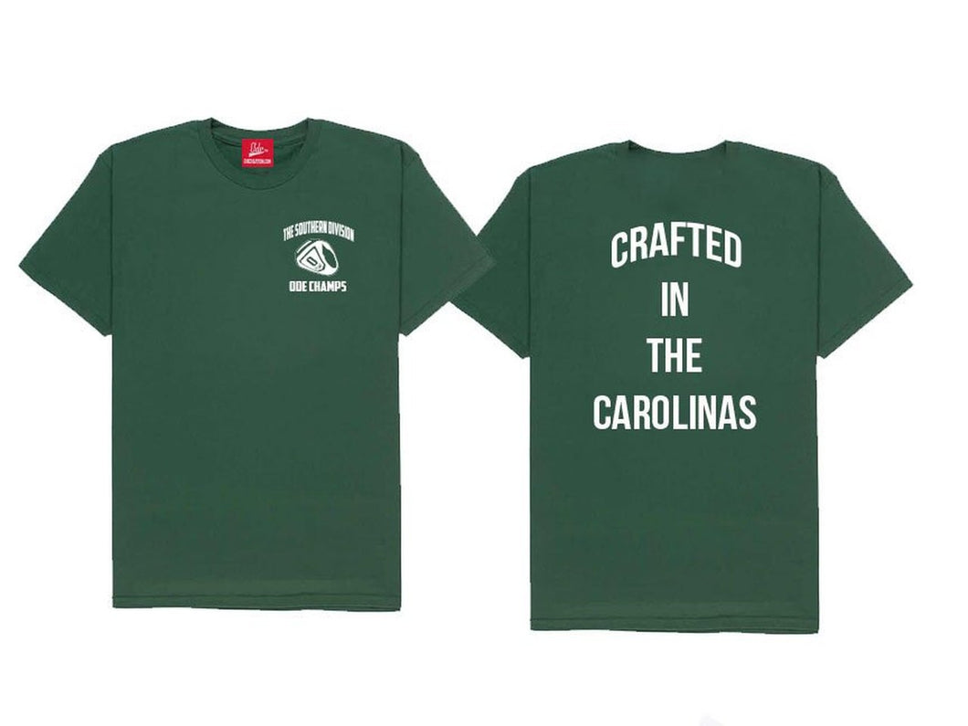 The Crafted In The Carolinas T-Shirt-Green