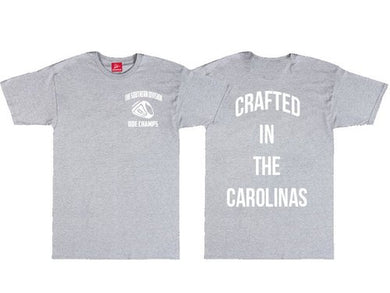 The Crafted In The Carolinas T-Shirt-Grey