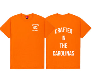 The Crafted In The Carolinas T-Shirt-Orange