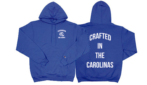 The Crafted In the Carolinas Hoodie X Champion - Royal Blue