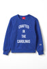 The Crafted In the Carolinas Crewneck X Champion - Blue