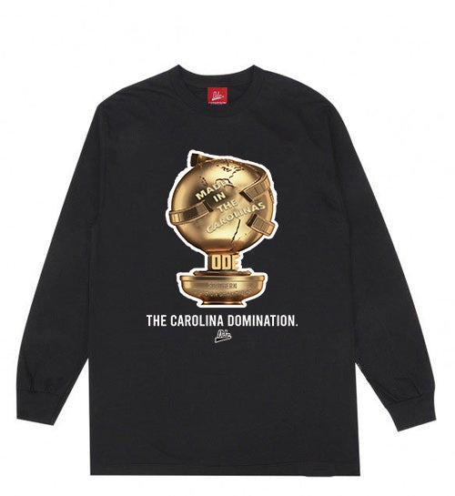 The Carolina Domination Long Sleeve- Black