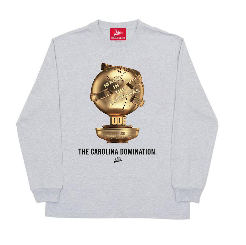 The Carolina Domination Long Sleeve- Grey