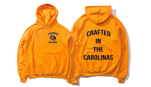 The Crafted In the Carolinas Hoodie X Champion - Gold/Yellow