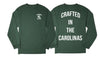 The Crafted In the Carolinas Long Sleeve-Green