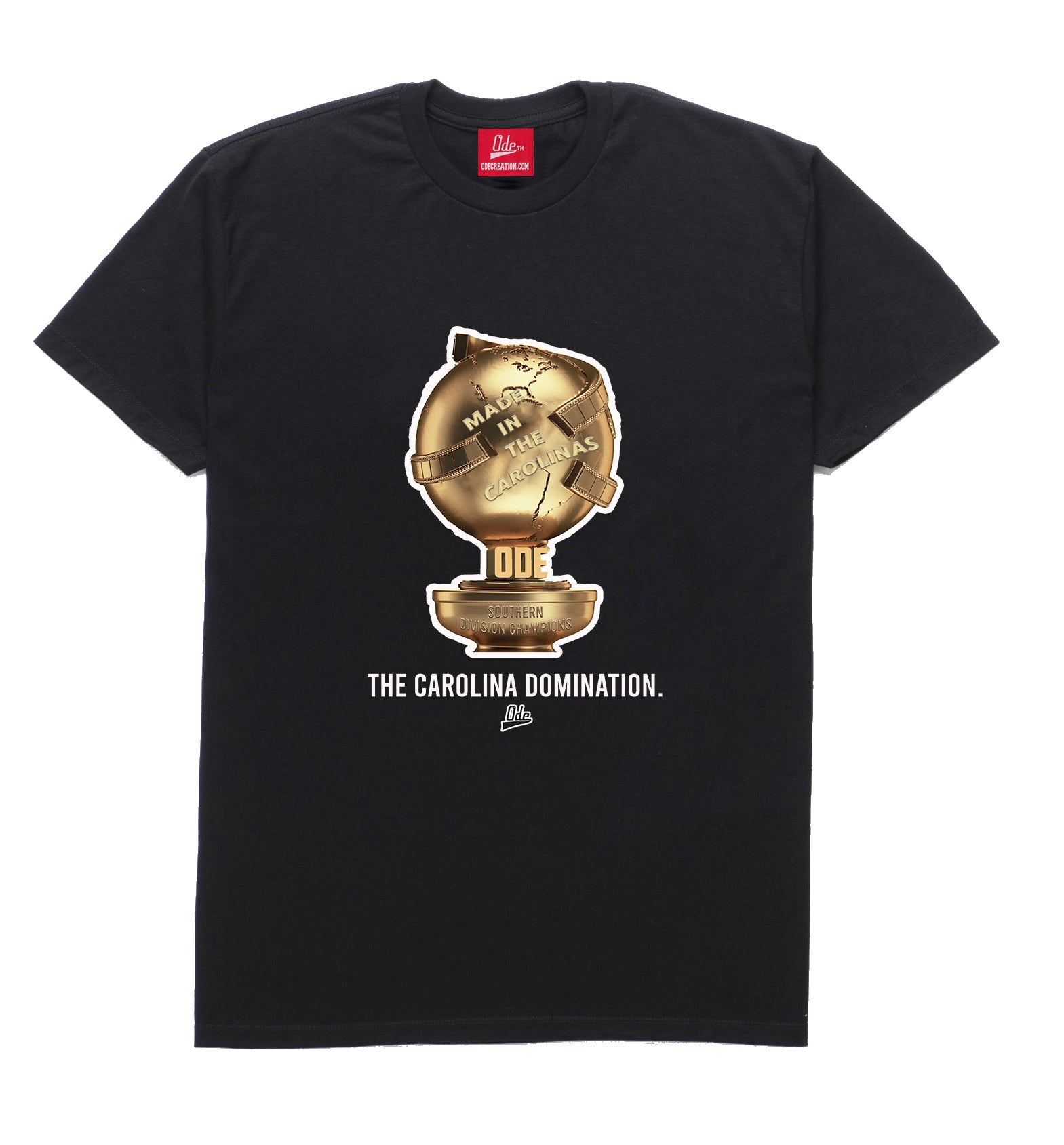 The Carolina Domination T-shirt Black