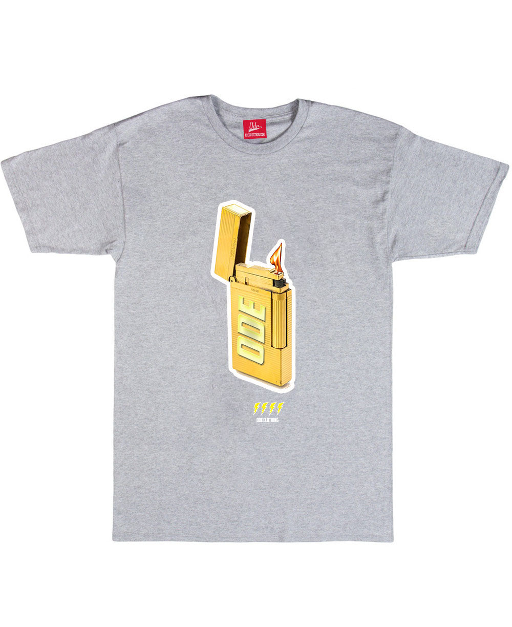 The Gold Lighter T-Shirt Grey