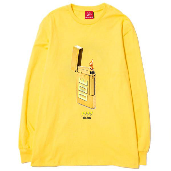 The Ode Gold Lighter Long Sleeve- Yellow
