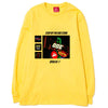 The Ode Neon Signs Long Sleeve- Yellow
