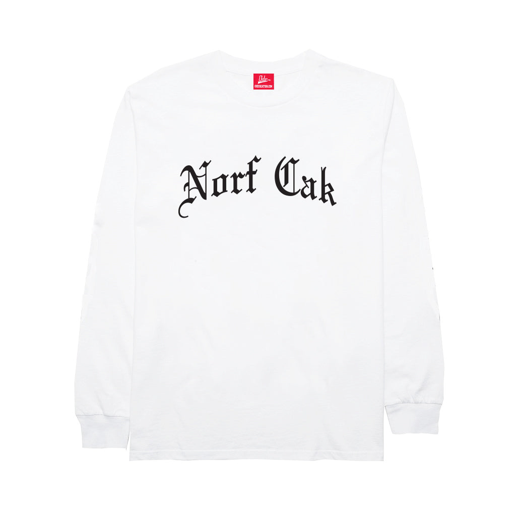 Norf Cak Long Sleeve- White