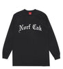 Norf Cak Long Sleeve- Black