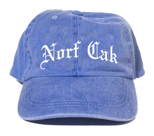 Norf Cak Dad Hat- Denim