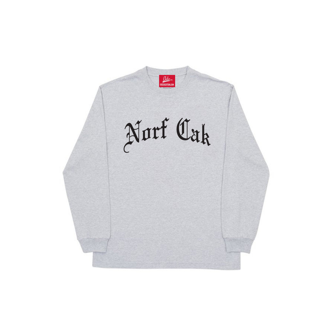 Norf Cak Long Sleeve- Grey