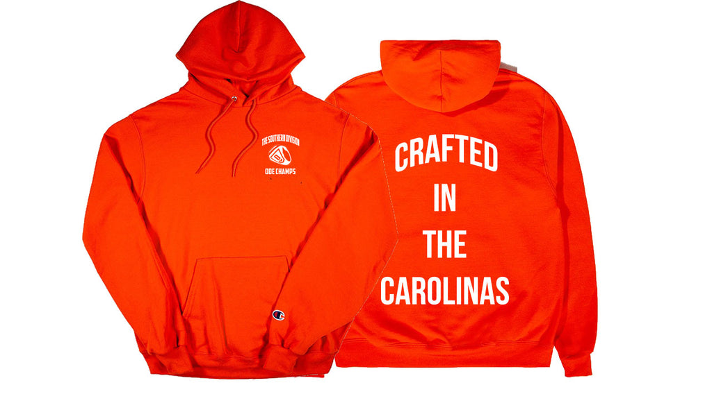The Crafted In the Carolinas Hoodie X Champion - Orange