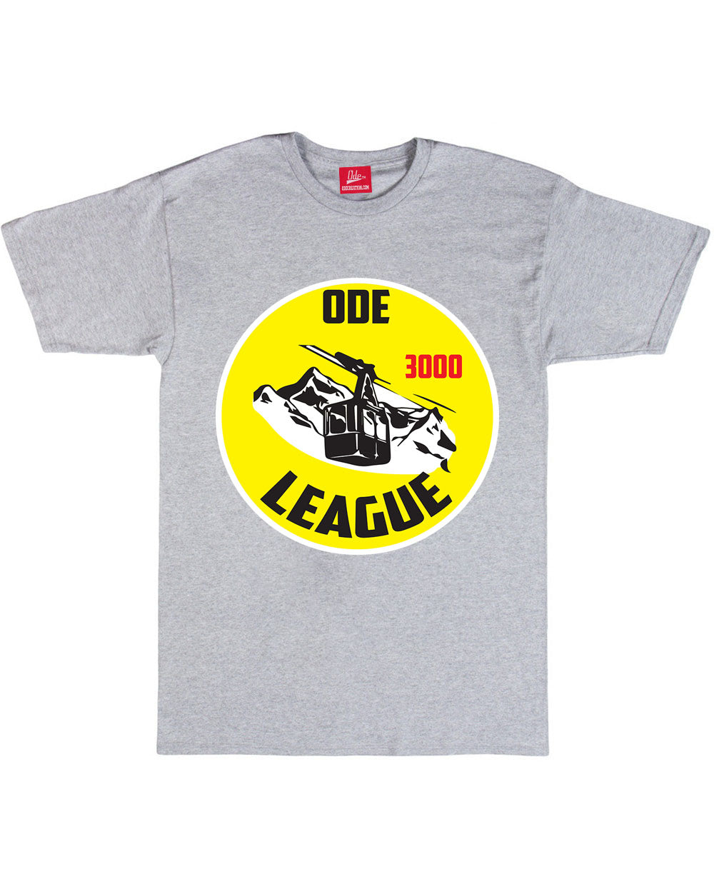 Ode Ski League 3000 T-Shirt Grey