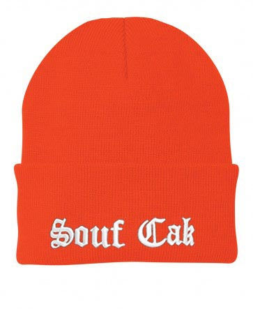 Souf Cak Skully/Beanie - Orange