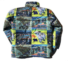 Load image into Gallery viewer, The South Carolina Map Puffer Jacket
