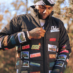 The Ode South Carolina Stamp Logo Puffer Jacket