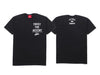 Trust The Accent x Cultured And Country T-shirt- Black