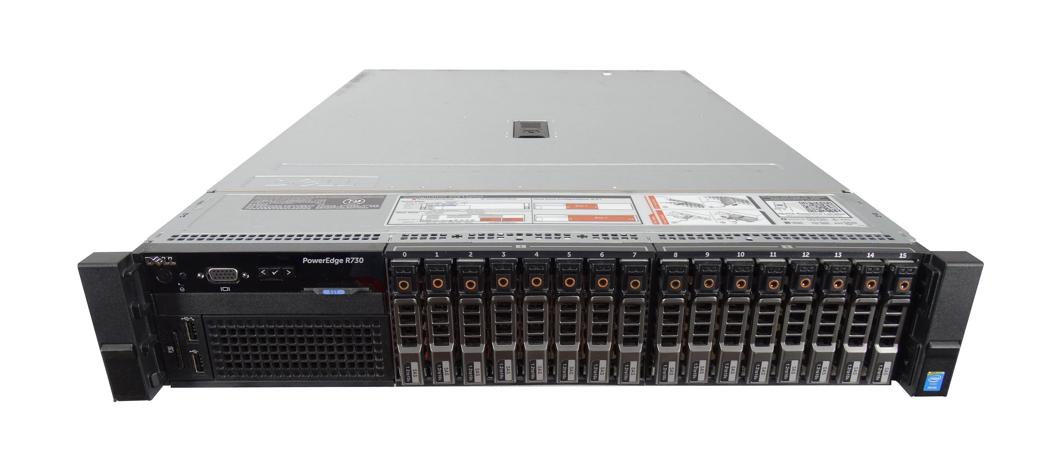 Used Dell R730