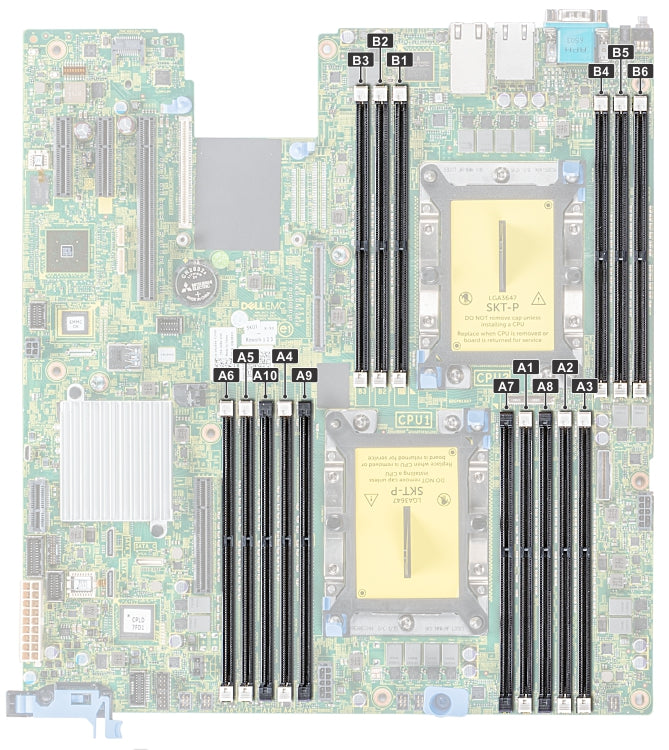 Dell PowerEdge R540 Memory Configuration
