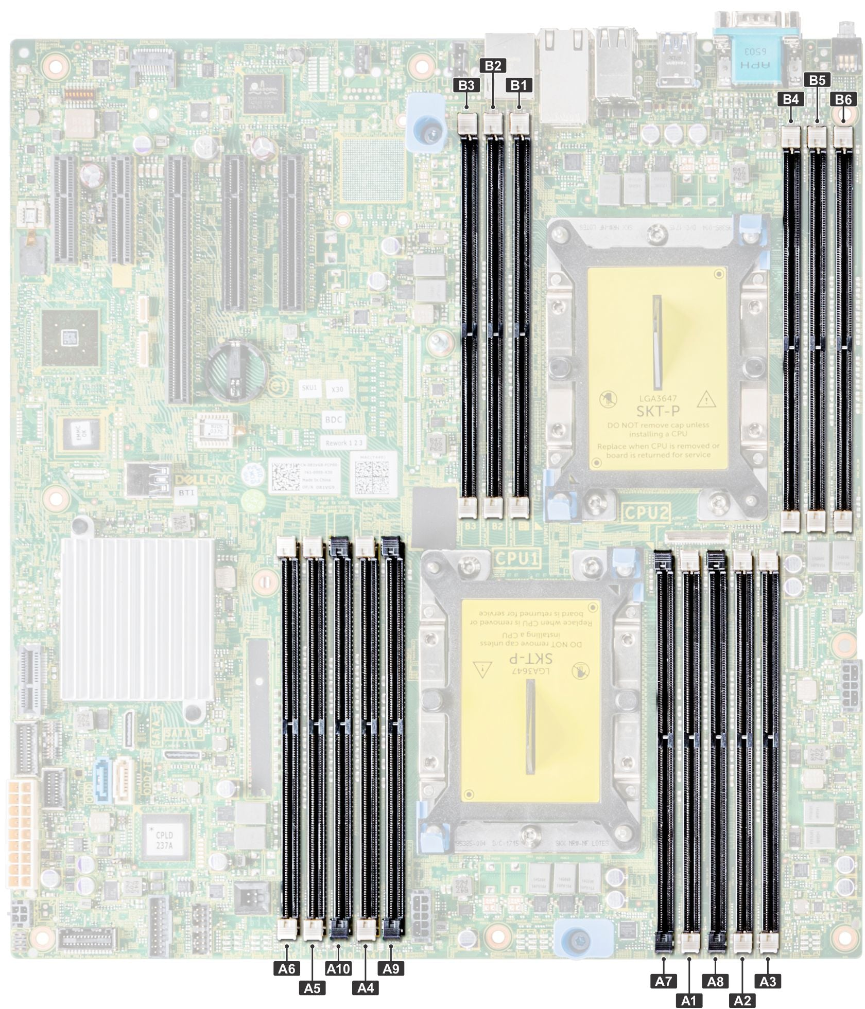 Dell PowerEdge T440 Memory Configuration