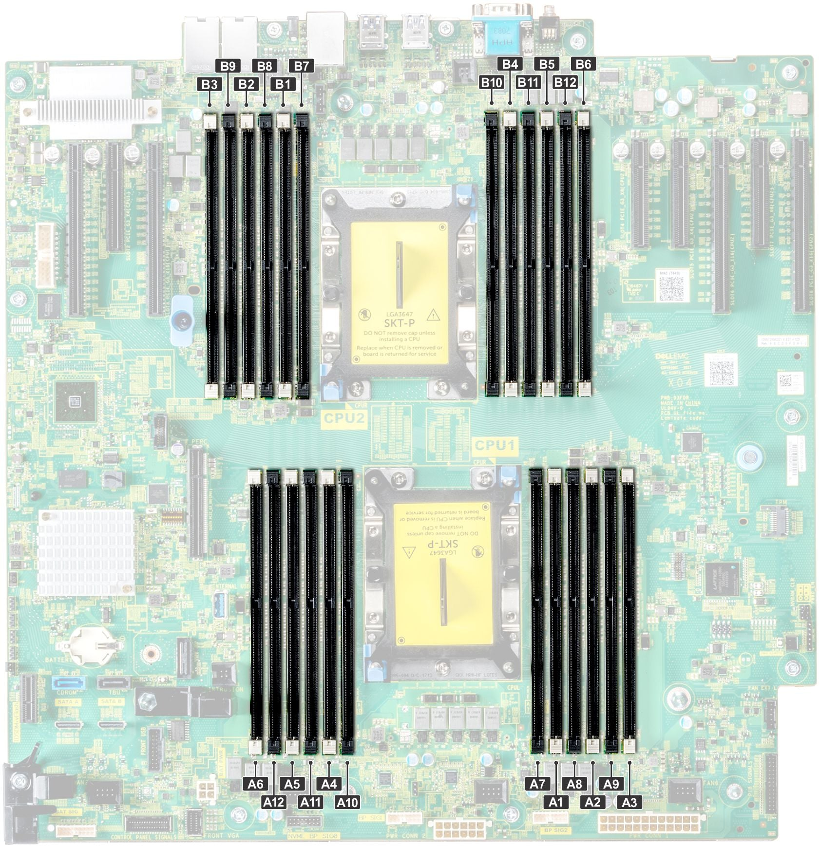 Dell PowerEdge T640 Memory Configuration