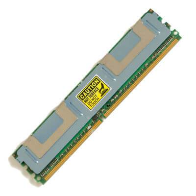 Dell 32GB (4 x 8GB) DDR2-667 MHz PC2-5300F Fully Buffered Server Memory Upgrade Kit