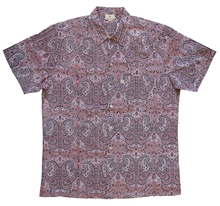 Load image into Gallery viewer, Mens Summer Shirt - Pisces Paisley - 100% cotton - Inkandblock