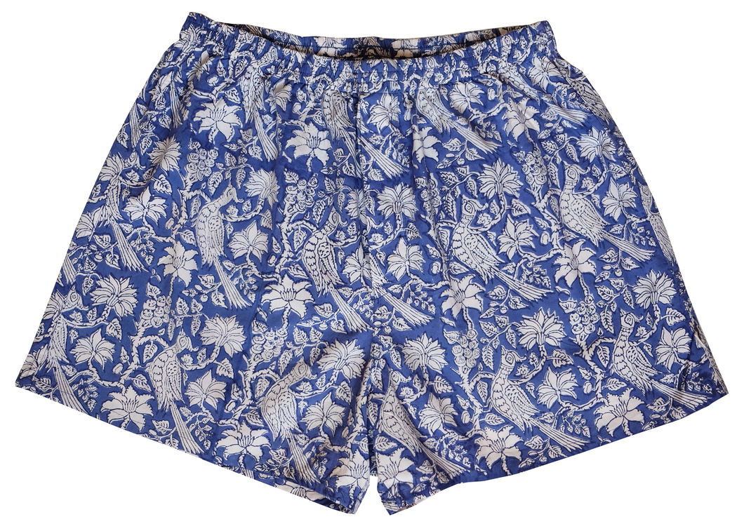 Unisex Cotton Boxers - Bird of Paradise - Anokhi