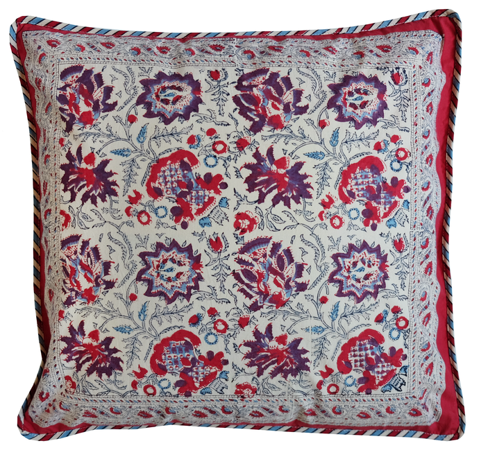 Cotton Cushion Cover - Petra - Square 18