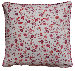"Cotton Cushion Cover - Provencal Spice - Square 18"" x 18"""