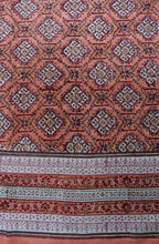 Load image into Gallery viewer, Hand Block Printed Sarong - Farukha Peach