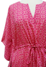 Load image into Gallery viewer, Mini Kaftan - Mystic Knot Pink - free size