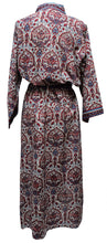 Load image into Gallery viewer, Long Kimono - Turret Paisley - free size - Anokhi