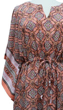 Load image into Gallery viewer, Long Kaftan - Jagat Peach - free size - Anokhi