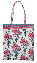 Load image into Gallery viewer, Cotton tote bag - Poppy - Anokhi