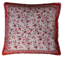 "Load image into Gallery viewer, Cotton Cushion Cover - Square 18"" x 18"" - Anokhi"
