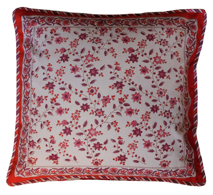 Cotton Cushion Cover - Square 18